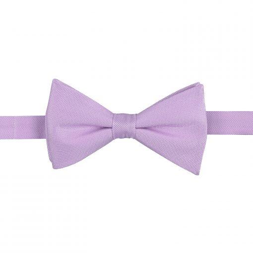Lilac Panama Silk Pre-Tied Thistle Bow Tie