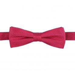 Tango Red Panama Silk Pre-Tied Batwing Bow Tie