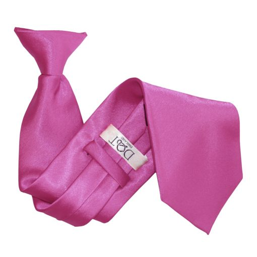 Mulberry Satin Clip On Tie