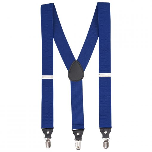 Royal Blue Plain Braces