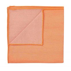 Light Orange Ottoman Wool Pocket Square