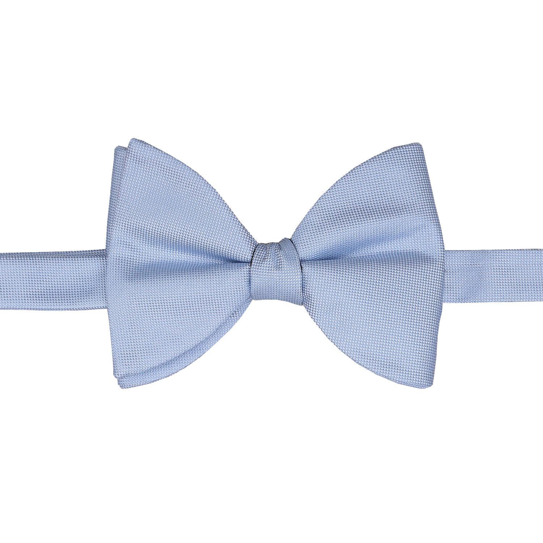 3f55ceeb86c6 Light Blue Panama Silk Self Tie Butterfly Bow Tie - James Alexander
