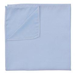 Light Blue Panama Silk Pocket Square