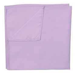 Lilac Panama Silk Pocket Square