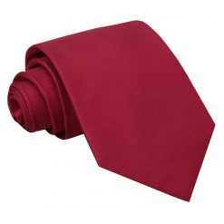 Tango Red Panama Silk Classic Tie