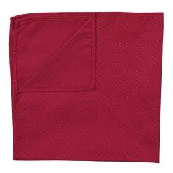 Tango Red Panama Silk Pocket Square