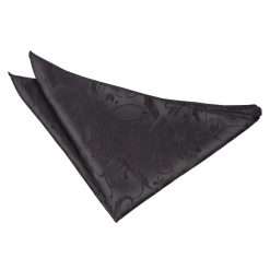 Black Passion Pocket Square