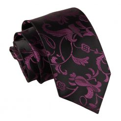 Black & Purple Passion Classic Tie
