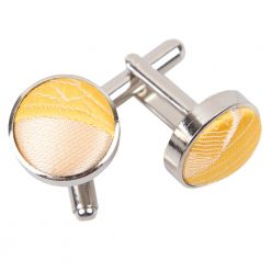 Gold Passion Silver Plated Cufflinks