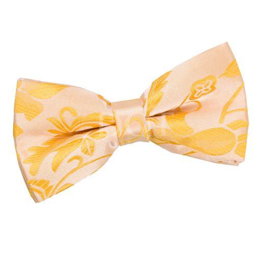 Gold Passion Pre-Tied Thistle Bow Tie