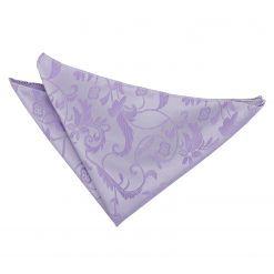 Lilac Passion Pocket Square
