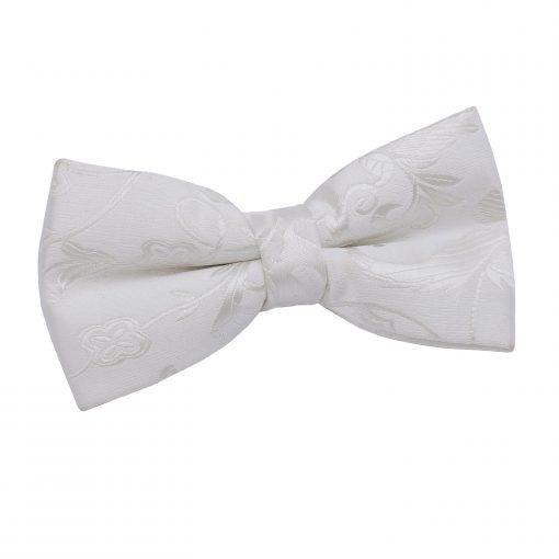 Ivory Passion Pre-Tied Thistle Bow Tie
