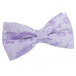 Lilac Passion Pre-Tied Thistle Bow Tie