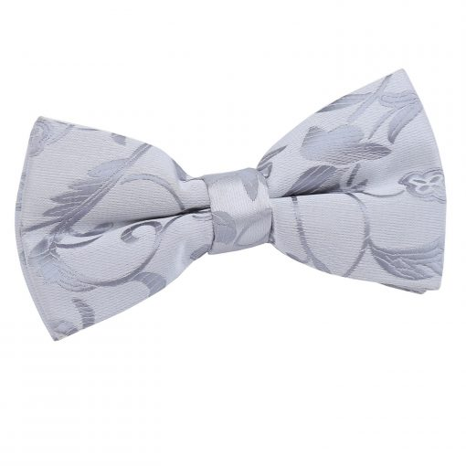 Silver Passion Pre-Tied Thistle Bow Tie