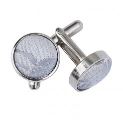 Silver Passion Silver Plated Cufflinks
