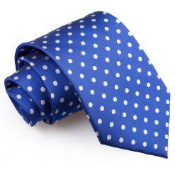 Royal Blue Polka Dot Classic Tie