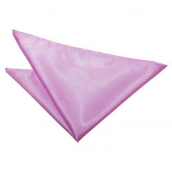 Lilac Satin Pocket Square