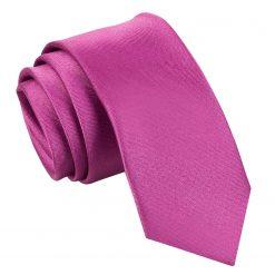 Mulberry Satin Skinny Tie