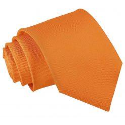 Celosia Orange Solid Check Classic Tie