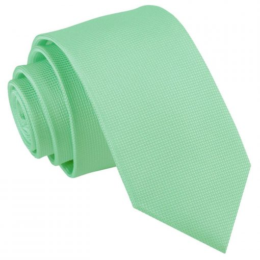 solid_check_mint_green_slim_tie