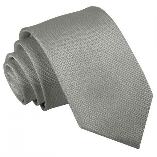 solid_check_silver_slim_tie